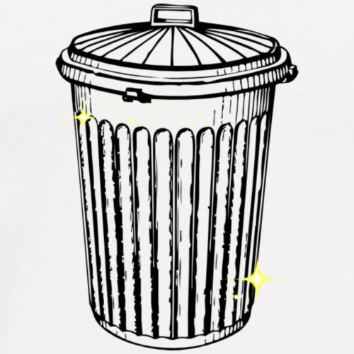Garbage Girl 72- Garbage Can - Men's Premium T-Shirt