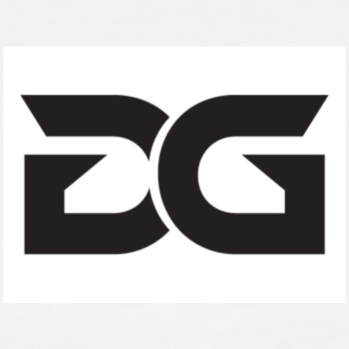 dg logo - Men's Premium T-Shirt