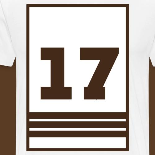17 BANNER - Men's Premium T-Shirt