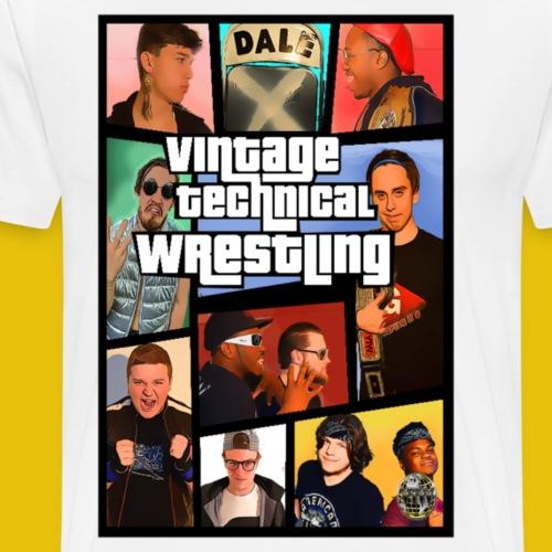VTW 2018 GTA Style Poster - Men's Premium T-Shirt