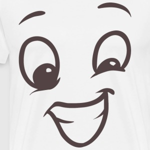 Fake Smile - Your emotions on your T-shirt - Men's Premium T-Shirt