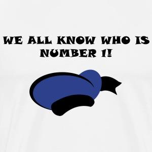 Number 1! - Men's Premium T-Shirt
