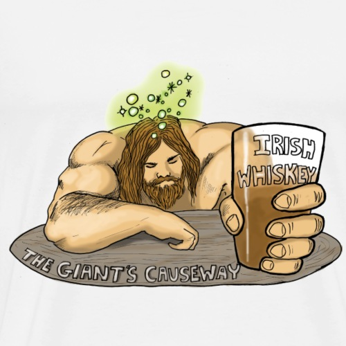 Drunken Finn McCool - Men's Premium T-Shirt