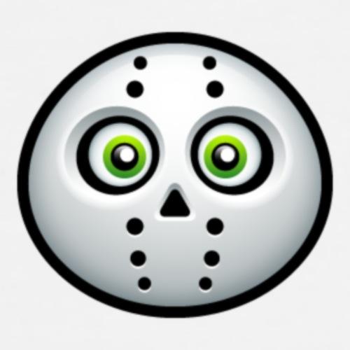 cute Fear mask for kids - Men's Premium T-Shirt