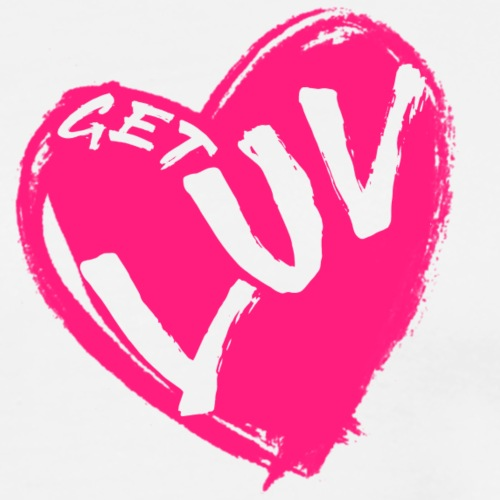 Get Luv (Pink) - Men's Premium T-Shirt