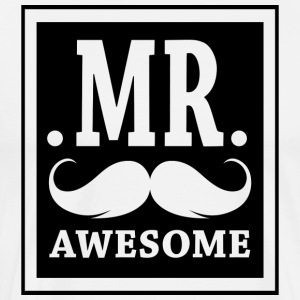 Mr-Awesome - Men's Premium T-Shirt