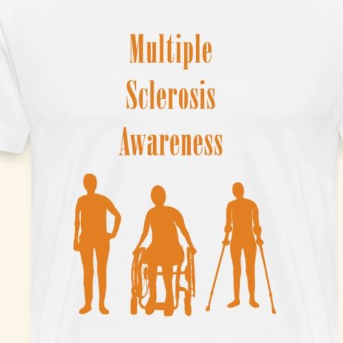 Multiple Sclerosis Awareness - Men's Premium T-Shirt