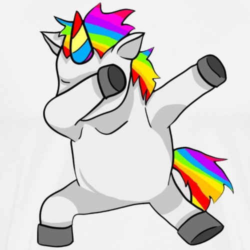 Unicorn Hip Hop Dab Dance - Men's Premium T-Shirt