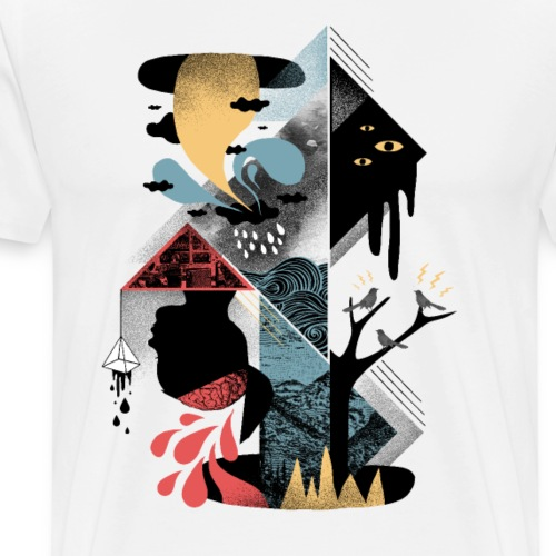 Shapes and Nightmares - Men's Premium T-Shirt