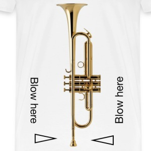 Blow here - Men's Premium T-Shirt