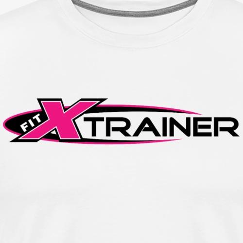 FITx Trainer 001a - Pink - Men's Premium T-Shirt
