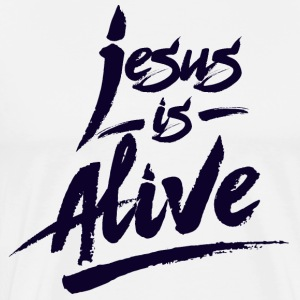 Jesus is Alive - Men's Premium T-Shirt