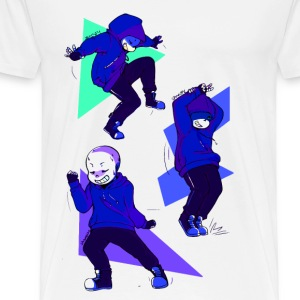 UNDERTALE SANS DANCETALE - Men's Premium T-Shirt