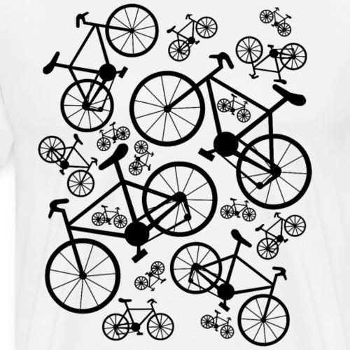 Bicycles Big and Small - Men's Premium T-Shirt