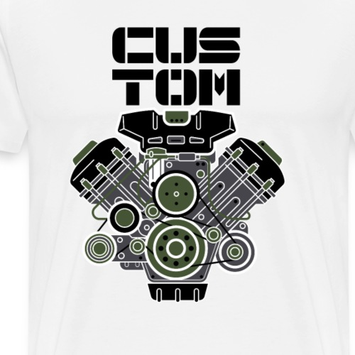 mechanical custom - Men's Premium T-Shirt