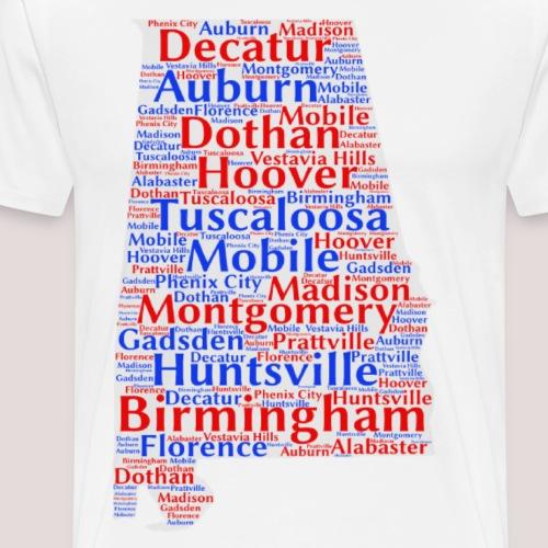 Alabama Design - Men's Premium T-Shirt
