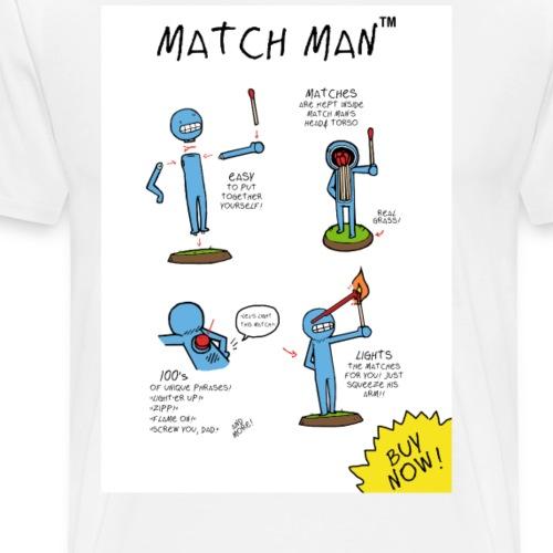 Match Man - Men's Premium T-Shirt