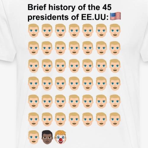 45 presindents - Men's Premium T-Shirt