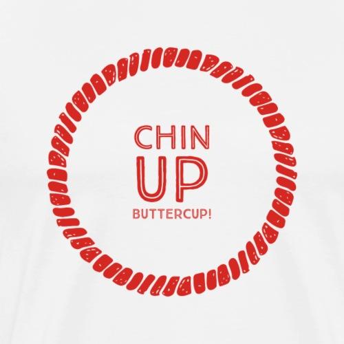 Chin UP Buttercup - Men's Premium T-Shirt