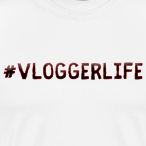 #Vloggerlife Black - Men's Premium T-Shirt