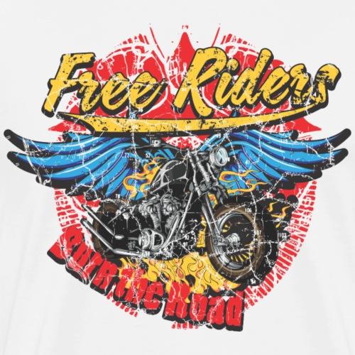 Free Riders - Men's Premium T-Shirt