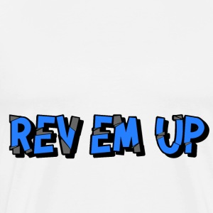 Rev Em Up Motorsport 4's Alternate - Men's Premium T-Shirt