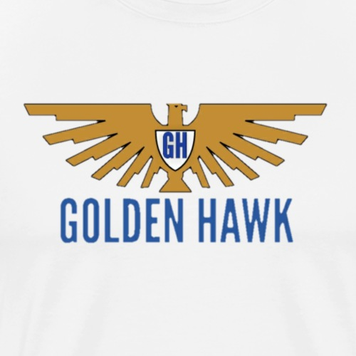 Golden Hawk - Men's Premium T-Shirt