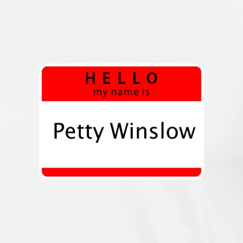 Petty Winslow - Men's Premium T-Shirt