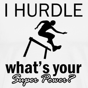 hurdle design - Men's Premium T-Shirt