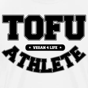 Tofu Athlete – Vegan 4 Life - Men's Premium T-Shirt