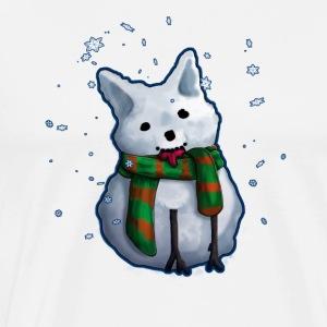 SnowCorgi - Men's Premium T-Shirt