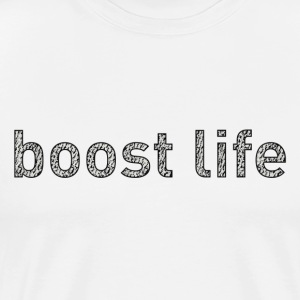 Turtle Dove Boost Life Short Sleeve T-Shirt - Men's Premium T-Shirt