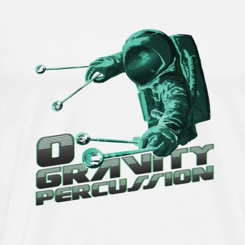 Percustronaut 1 - Men's Premium T-Shirt