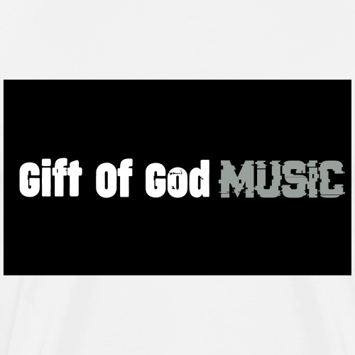 Gift of God Music - Men's Premium T-Shirt