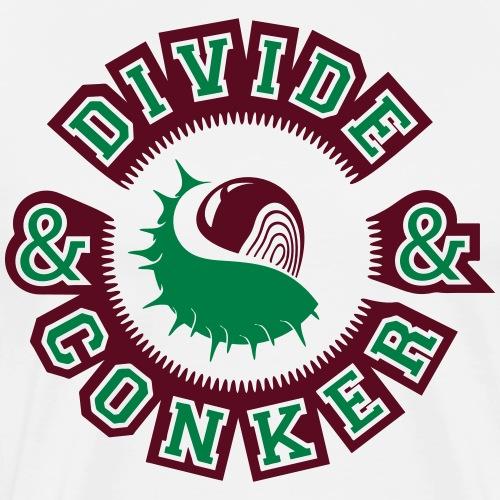 Divide and Conker - Men's Premium T-Shirt