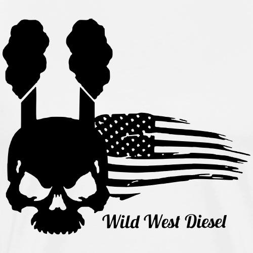 Coal Skull - Men's Premium T-Shirt