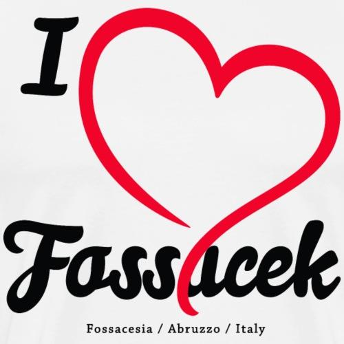 I Love Fossacek - Men's Premium T-Shirt