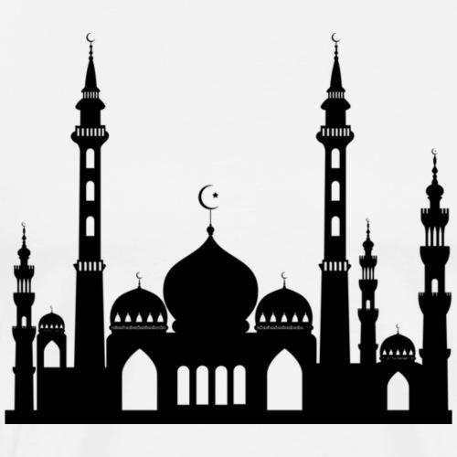 Masjid Tee - Men's Premium T-Shirt