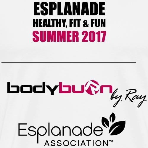 Esplanade Tshirt Back Black 1 - Men's Premium T-Shirt
