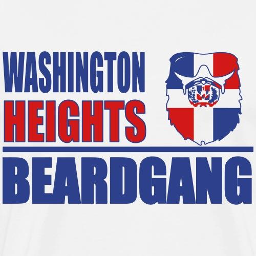 Washinton Heights Beardgang - Men's Premium T-Shirt