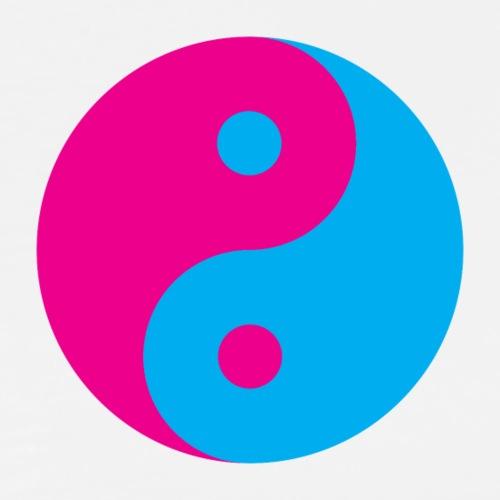 Yin Yang Pink Blue - Men's Premium T-Shirt