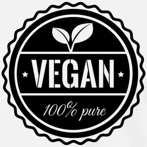 100% pure vegan - Men's Premium T-Shirt