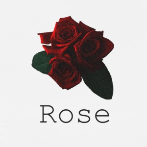 Rose [Black] - Men's Premium T-Shirt