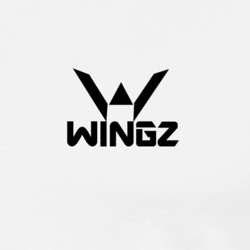 WIGNZ LOGO NAME - Men's Premium T-Shirt