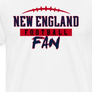 New England Football Fan - Men's Premium T-Shirt