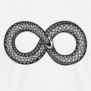 Ouroboros -The Infinity symbol - Men's Premium T-Shirt
