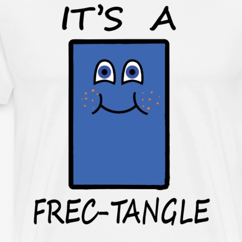 Frectangle, the freckled rectangle - Men's Premium T-Shirt