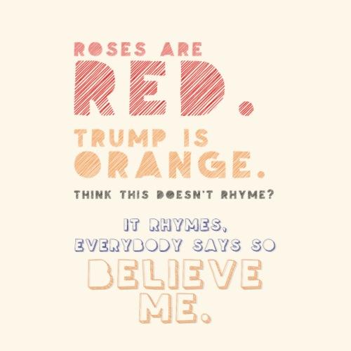 Roses are red. - Men's Premium T-Shirt