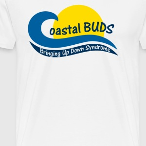 Coastal Bringing Up Down Syndrome - Men's Premium T-Shirt