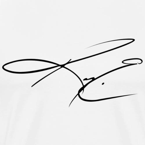 Black KCE Signature - Men's Premium T-Shirt